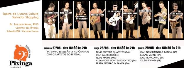 Pixinga Bass Festival Salvador 2013